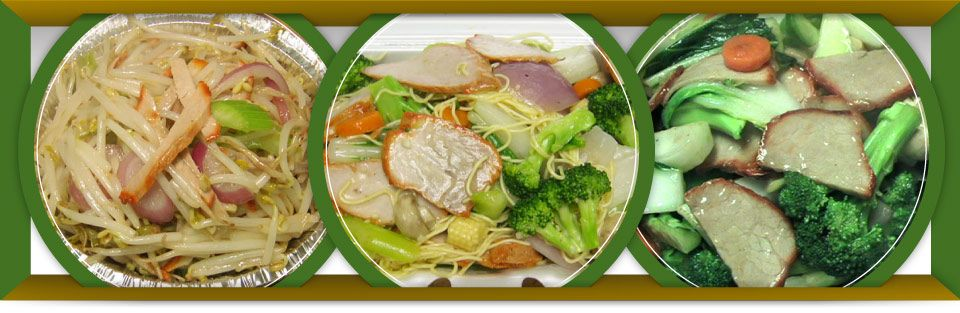 Pork Chow Mein, Pork Loin, Pork & Mixed Vegetables