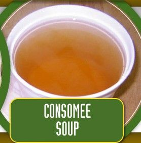 Consomee Soup